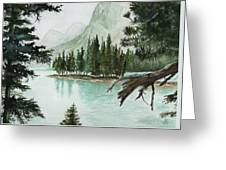 Spirit Lake Greeting Card