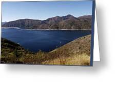 Spirit Lake Wa Greeting Card