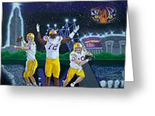 Spirit Of Baton Rouge Greeting Card by Hershel Kysar