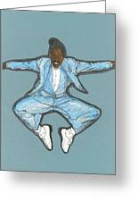 Spirit Of Cab Calloway Greeting Card