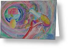 Spirit Of Piece Greeting Card