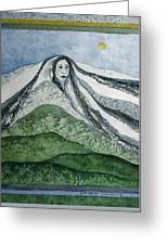 Spirit Of The Mountain Greeting Card