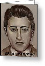 Spirit Painting Collection Greeting Card