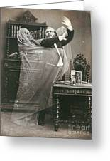 Spirit Photograph, 1863 Greeting Card