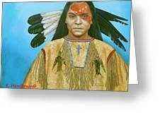 Spirit War Greeting Card