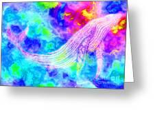 Spirit Whale 3 Greeting Card