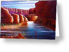 Spirits Of The River Greeting Card