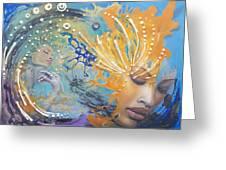 Spiritual Enlightenment  Greeting Card