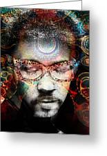 Spiritual Glasses Greeting Card