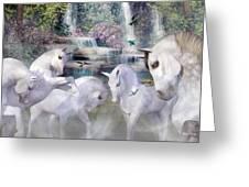 Spiritual Harmony Greeting Card