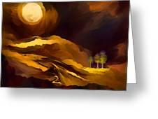 Spiritual Landscape Greeting Card
