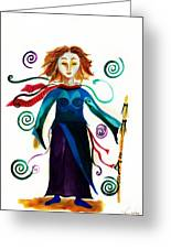 Spiritual Warrior Greeting Card