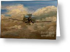 Spitfire Mk19 1945 Warbird - Dedicated To My Closest Friend Melody Lasola 08 08 83 - 25 10 09 Greeting Card