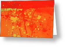 Splash 6 Greeting Card