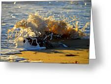 Splash Of Summer - Cape Cod National Seashore Greeting Card