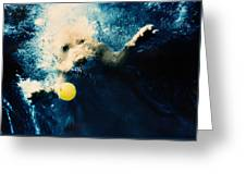 Splashdown Greeting Card