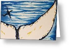 Ocean Tail Greeting Card