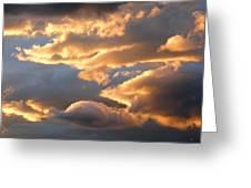 Splendid Cloudscape 2 Greeting Card