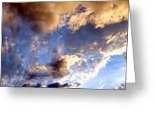 Splendid Cloudscape 3 Greeting Card