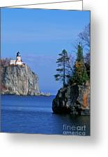 Split Rock Lighthouse - Fs000120 Greeting Card