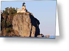 Split Rock Lighthouse Crop 9321 Greeting Card