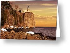 Split Rock Lighthouse Greeting Card