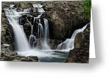 Split Rocks Falls 2 Greeting Card