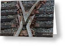 Split Track Greeting Card
