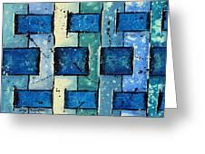 Split Weave Greeting Card