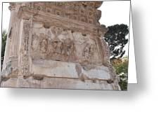 Spoils Of Jerusalem Greeting Card
