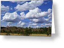 Spokane Cloudscape Greeting Card