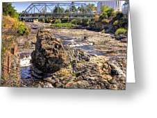 Spokane Falls Greeting Card
