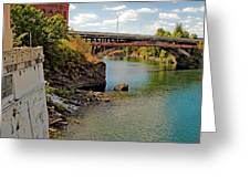 Spokane River Greeting Card