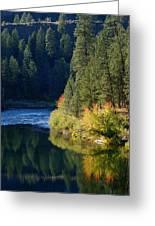 Spokane Rivereflections Greeting Card