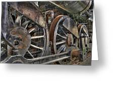 Spokes Of The Past Greeting Card