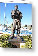 Sponge Diver Memorial Greeting Card