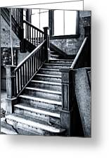 Spooky Grand Staircase Greeting Card