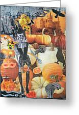 Spooky Harvest Greeting Card