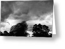 Spooky Sky  Greeting Card