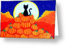 Spooky The Pumpkin King Greeting Card