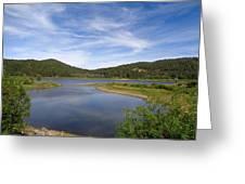Spooner Lake Greeting Card