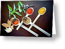 Spoons N Spices 3 Greeting Card