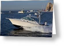 Sportfishing Boats - Cabo San Lucas Greeting Card