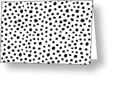 Spots Greeting Card by Rachel Follett