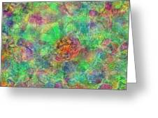 Spoutclustered Greeting Card