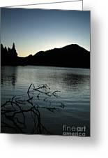 Sprague Lake Dawn Greeting Card