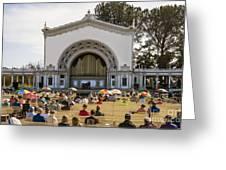 Spreckels Organ Pavilion Concert - San Diego Greeting Card