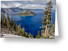 Spring Afternoon From Discovery Point Greeting Card
