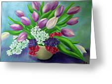 Spring As A Gift Greeting Card