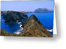 Spring At Anacapa Island, Channel Greeting Card